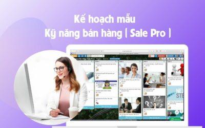 Mẫu bài học giúp sale bán hàng hiệu quả.