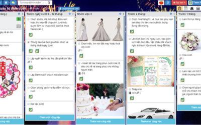 Mẫu todo list tổ chức đám cưới