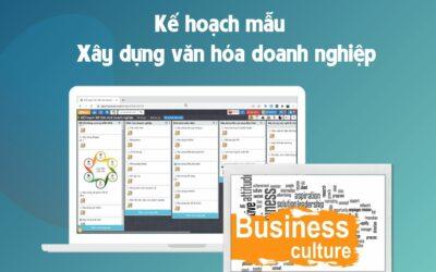 Mẫu xây dựng văn hóa doanh nghiệp