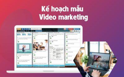 Mẫu kế hoạch Video Marketing