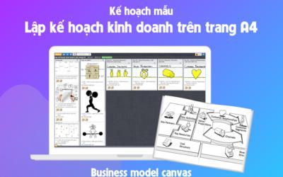 Lập kế hoạch kinh doanh trên trang A4